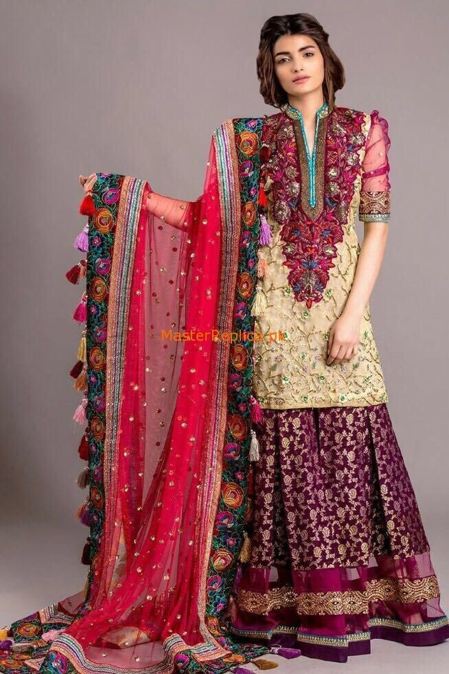 Tabassum Mughal Luxury Bridal Collection 2017 Replica in