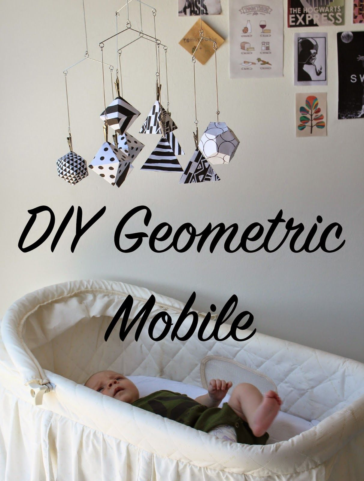 to the fullest...: DIY Geometric Mobile