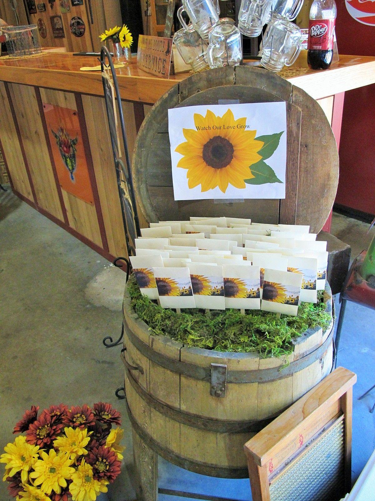 26++ Sunflower themed wedding gifts ideas