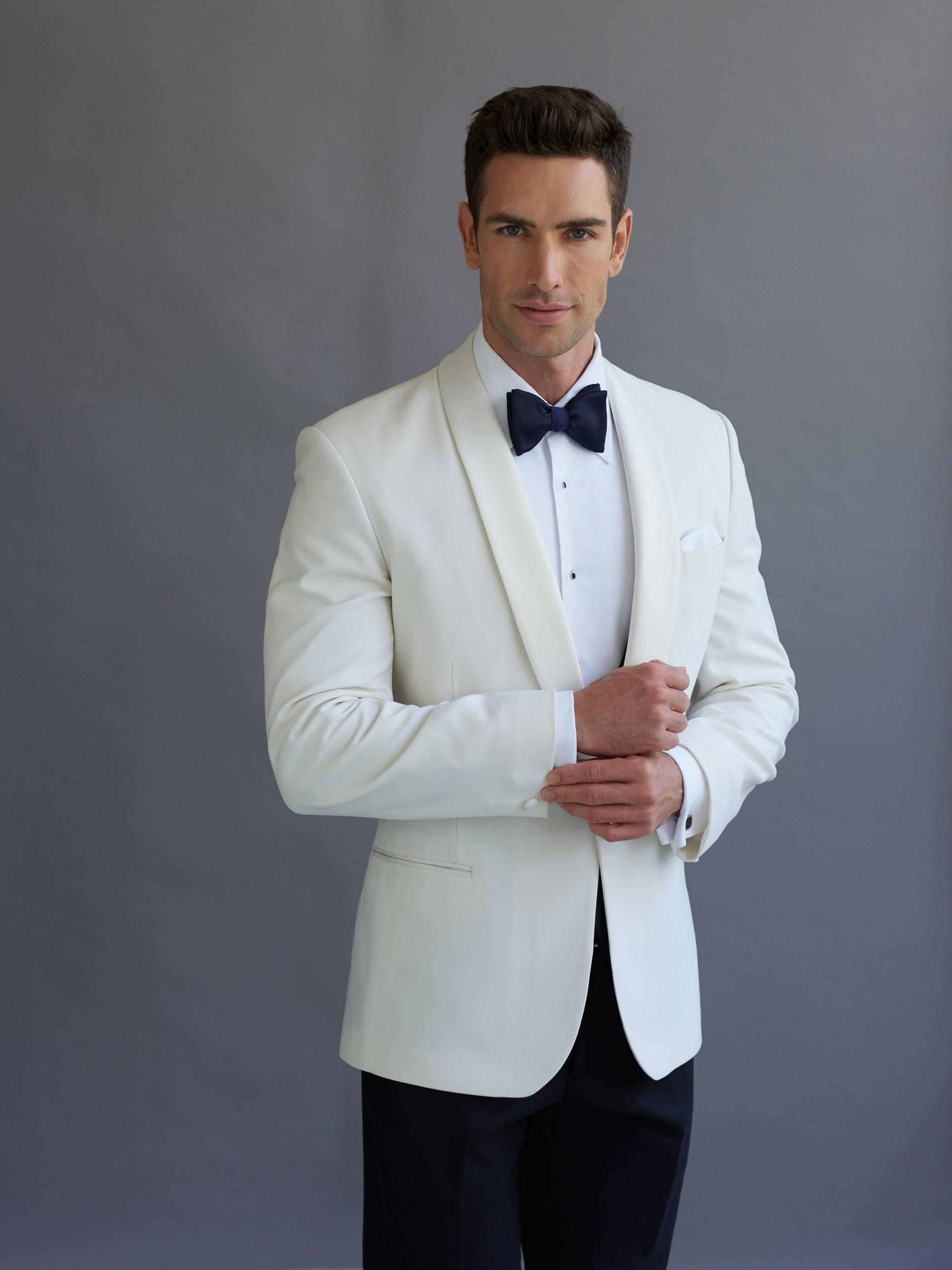 Ivory Dinner Jacket weddings & formal occasions