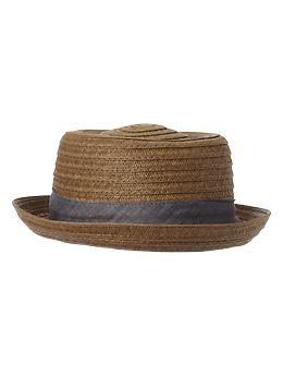 1ad1eb7d2a1 Straw porkpie hat