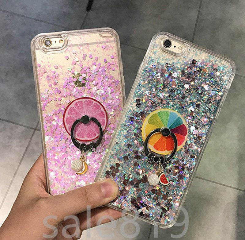 Details about For Alcatel Tetra 5041C Liquid Glitter Diamond Bling