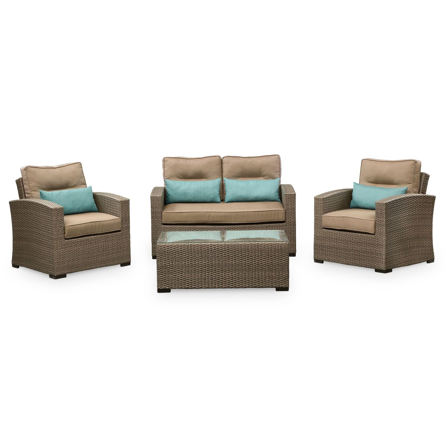 The Pinnacle Of Summer Style Patio Corona 4 Pc Outdoor Living Room Value City Furniture Value City Furniture Outdoor Living Room Outdoor Living