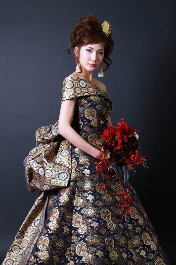 Japanese Wedding Dress | Uniquely Pretty - Wedding | Pinterest