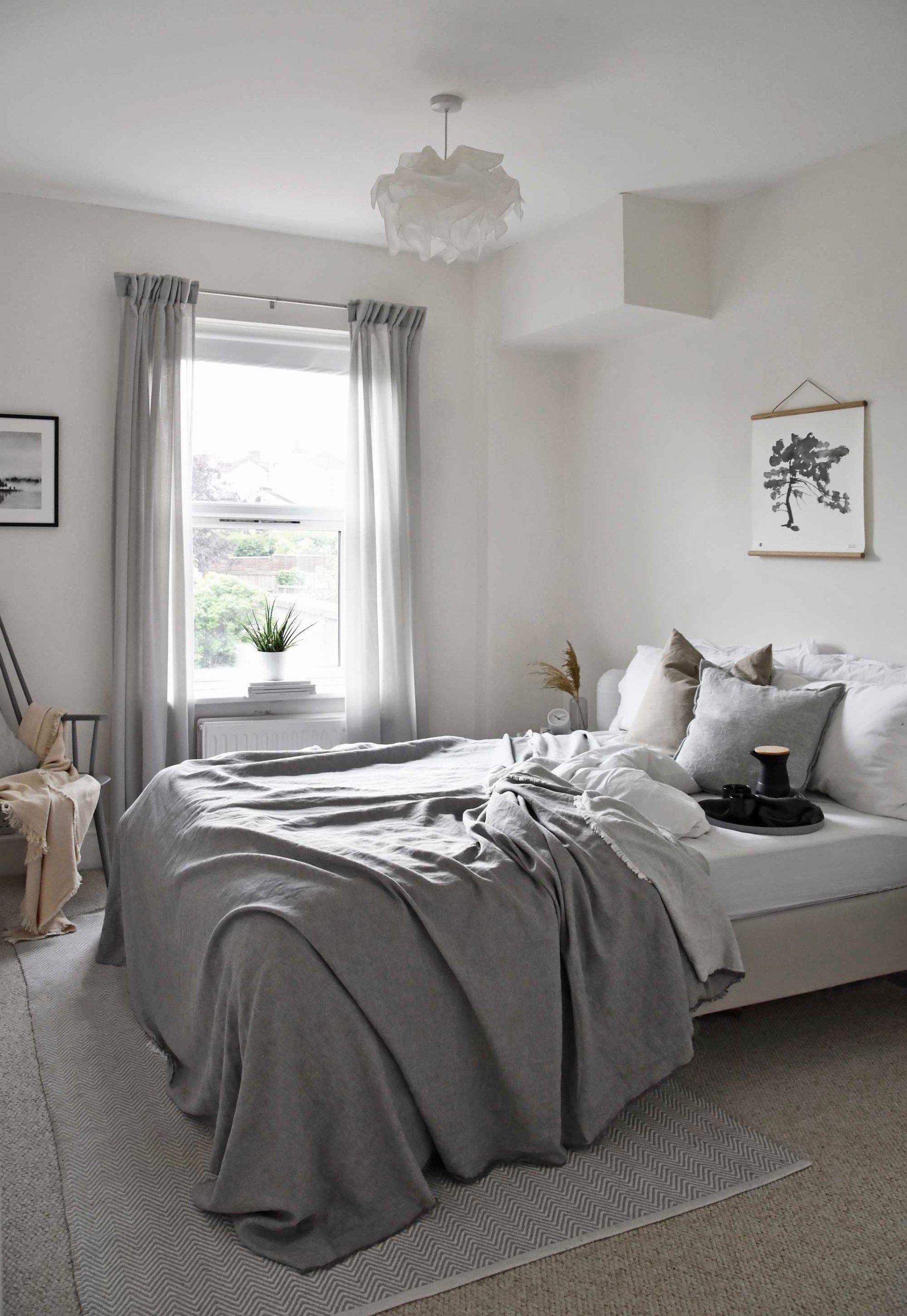 A guest bedroom wall-art update with NØRDIK | Bedroom wall ...