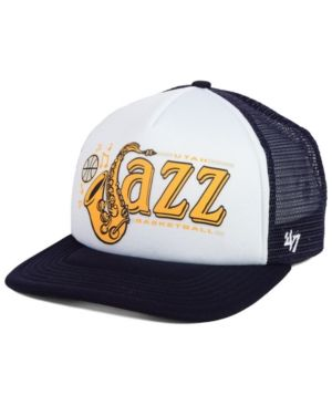 e0542920bf9fe 47 Brand Utah Jazz Region Mesh Mvp Cap - Navy White Adjustable ...