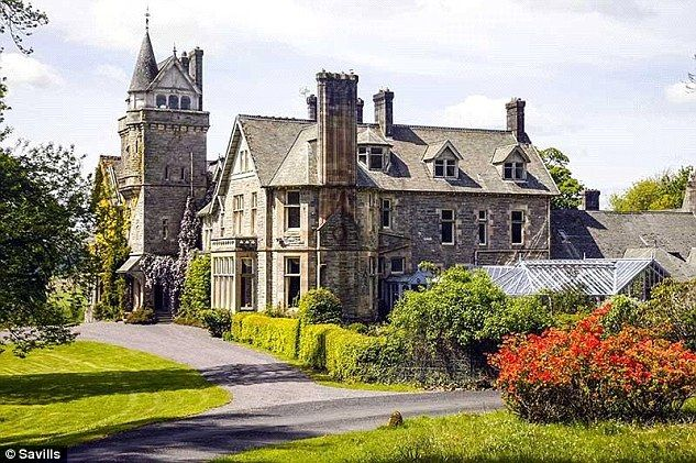 Thirteen bedroom Victoria mansion £2.75m .Source: Savillis   Houses ...