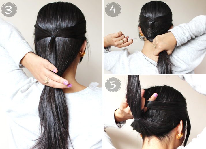 Hair Quick And Easy 2 Minute Casual Updo Easy Hair Updos Long Hair Styles Easy Hairstyles