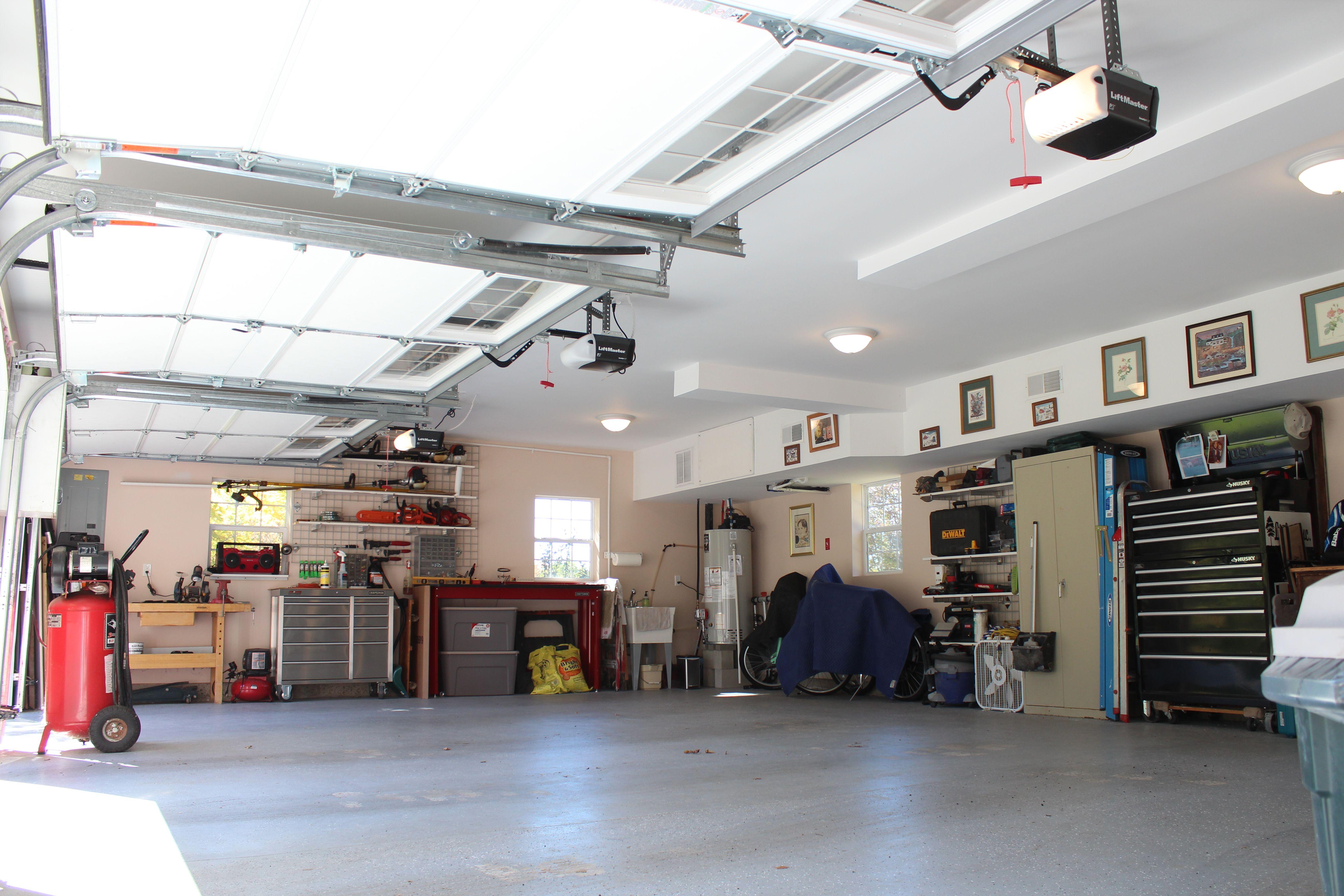 Two Story Garage Garage Interior Gambrel Two Story Garage