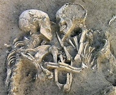 Buried Couple Unearthed