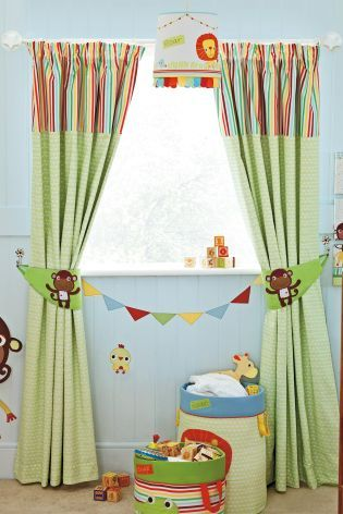 Jungle Brights Pencil Pleat Blackout Lined Curtains From The Next Uk Online