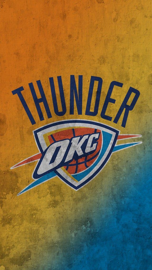 OKC Thunder Iphone Wallpaper