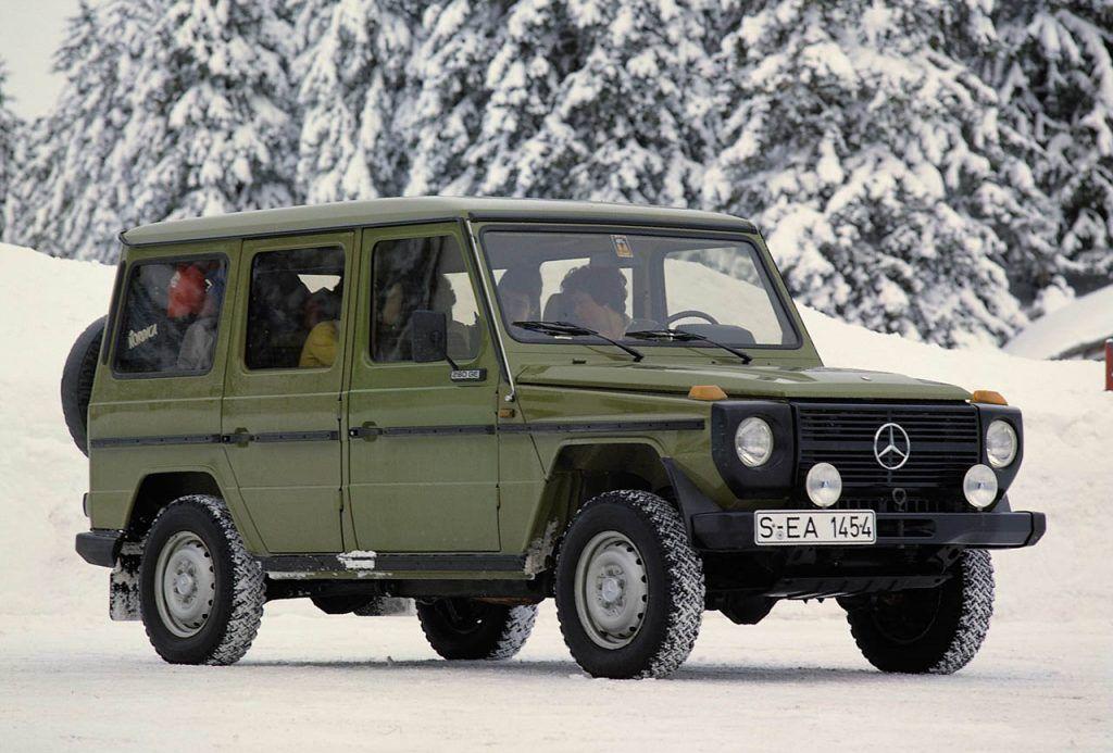 Mercedes Benz G Wagen Celebrates 30 Years メルセデス メルセデス