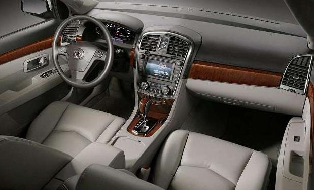 The 2017 Cadillac Srx Interior
