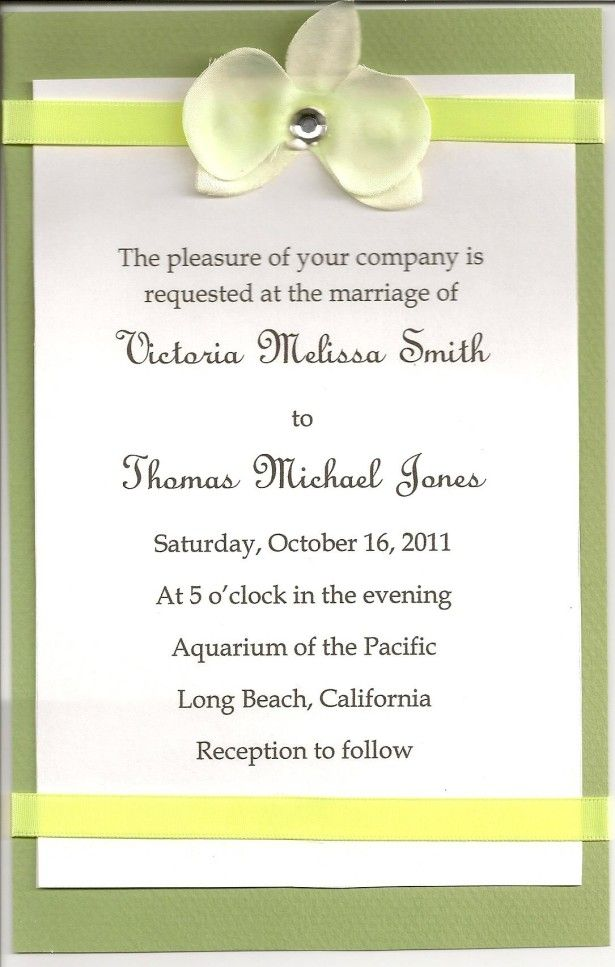 Wedding Invitation Ideas, Cute Homemade Cheap Wedding Invitations ...