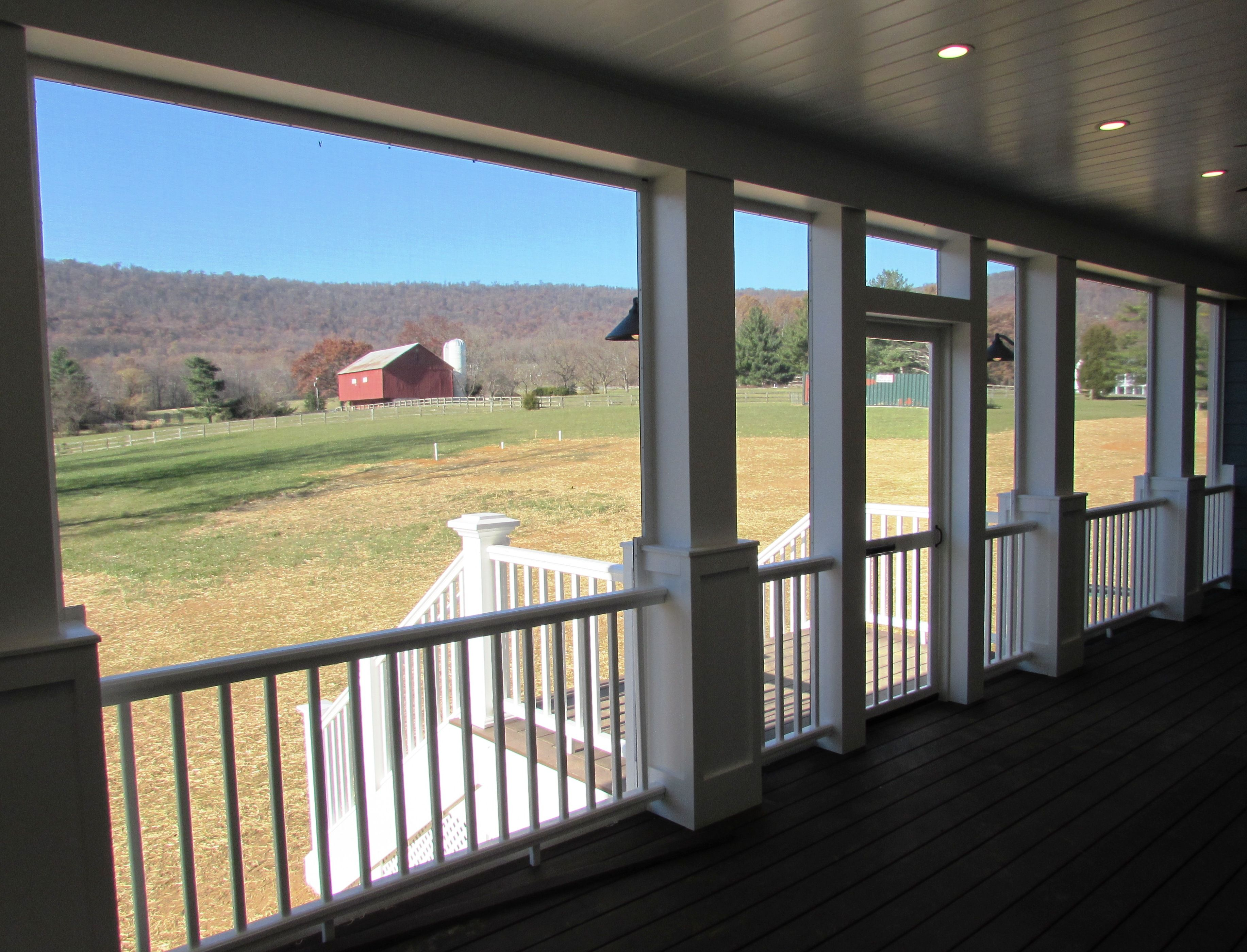 Great View From Screened Porch New Custom Home In Middletown Md