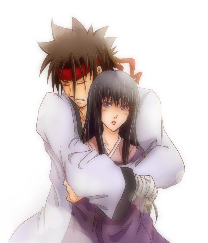 sanosuke and megumi relationship