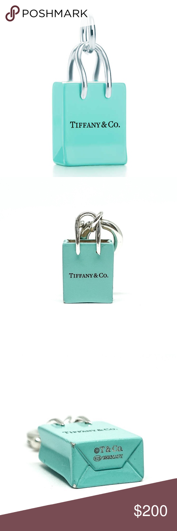 e1da7909ad Authentic TIFFANY & CO Shopping Bag Charm Spice up that bracelet or add a  little chic