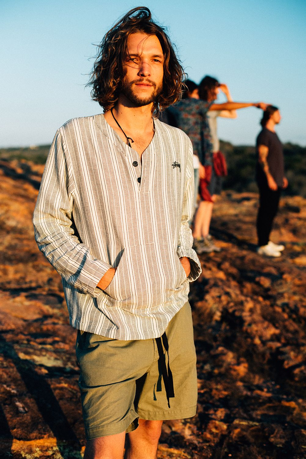 Hippie modern clothes for men photo images