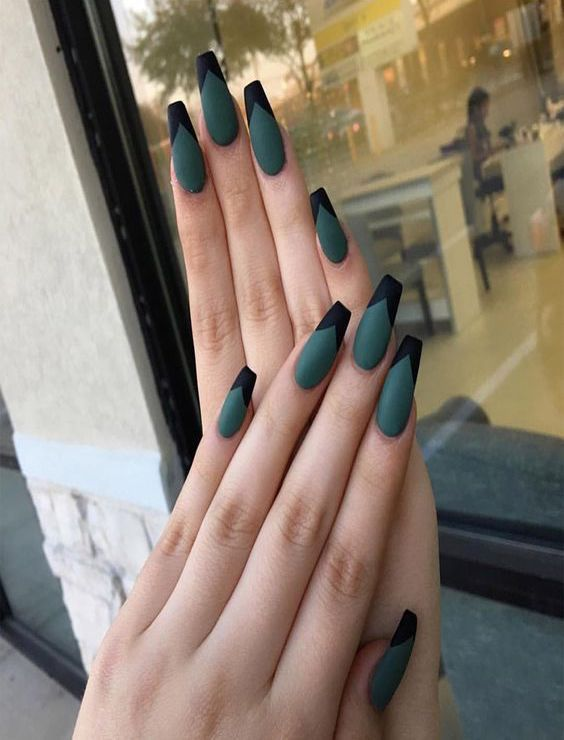 30+ UNIQUE COFFIN NAILS ARE DEFINITELY YOUR CHOICE Nails; Natural Nails; Solid C… – Nails – LastStepPin