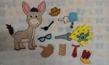 Felt Board Flannel Story Rhyme Teacher Resource The Wonky Donkey