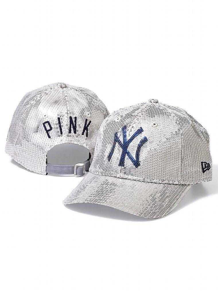 0b33d065 New York Yankees Bling Baseball Hat - PINK - Victoria's Secret | My ...
