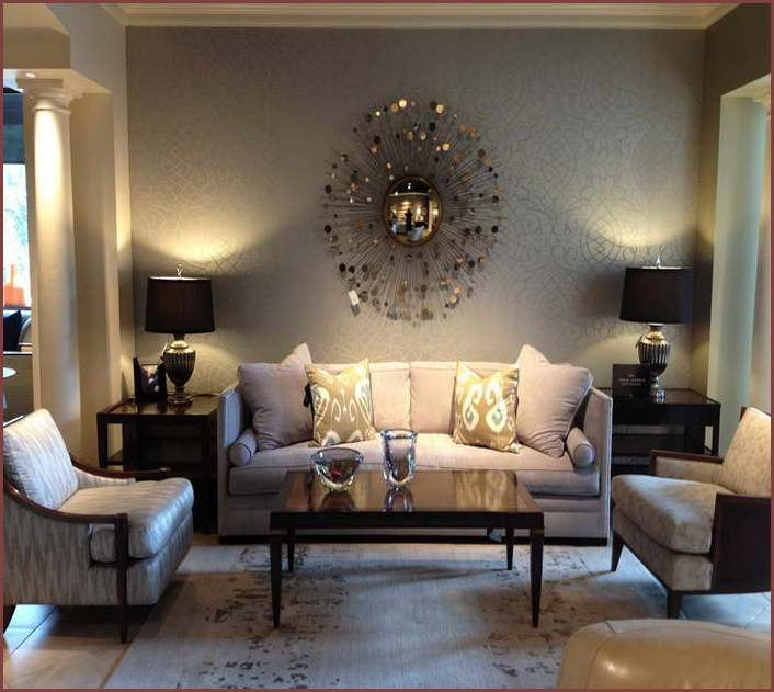 Large Wall Behind Couch Decorating Ideas