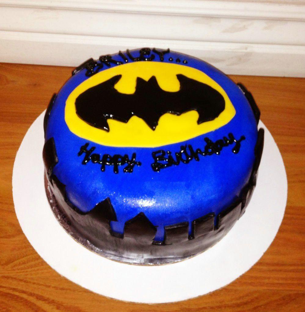 Cool Batman Birthday Cake Birthday Cake Ideas Pinterest
