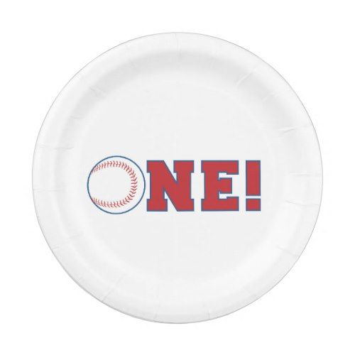 Baseball First Birthday Paper Plates  sc 1 st  Pinterest & Baseball First Birthday Paper Plates | Birthdays and Birthday party ...