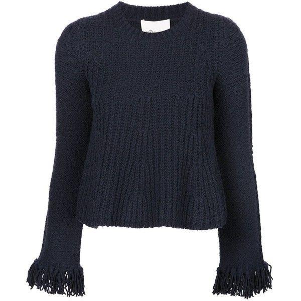 3.1 Phillip Lim Fringe Swing Sweater (€480) ❤ liked on Polyvore ...