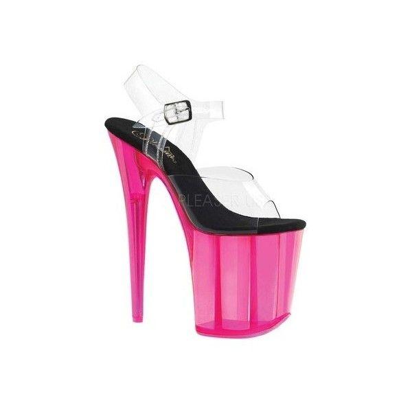 Pleaser Flamingo 808UVT Platform Sandal (Women's) kMzOlmbb6w