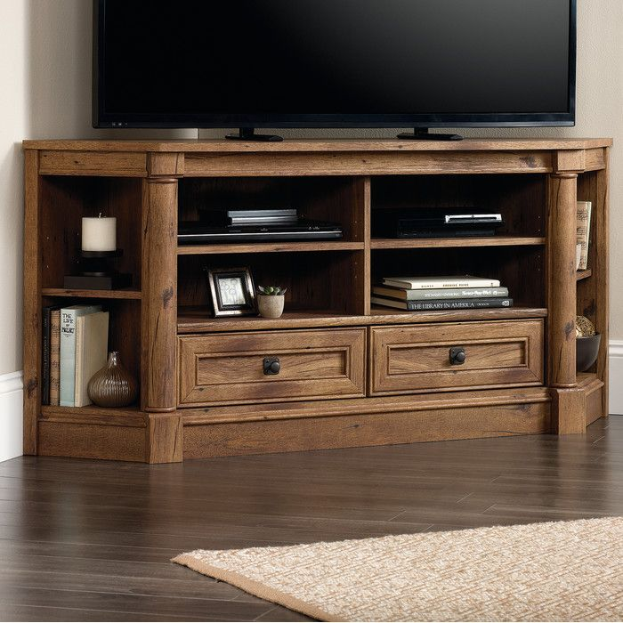 Darby Home Co Sagers Corner Tv Stand Reviews Wayfair Living