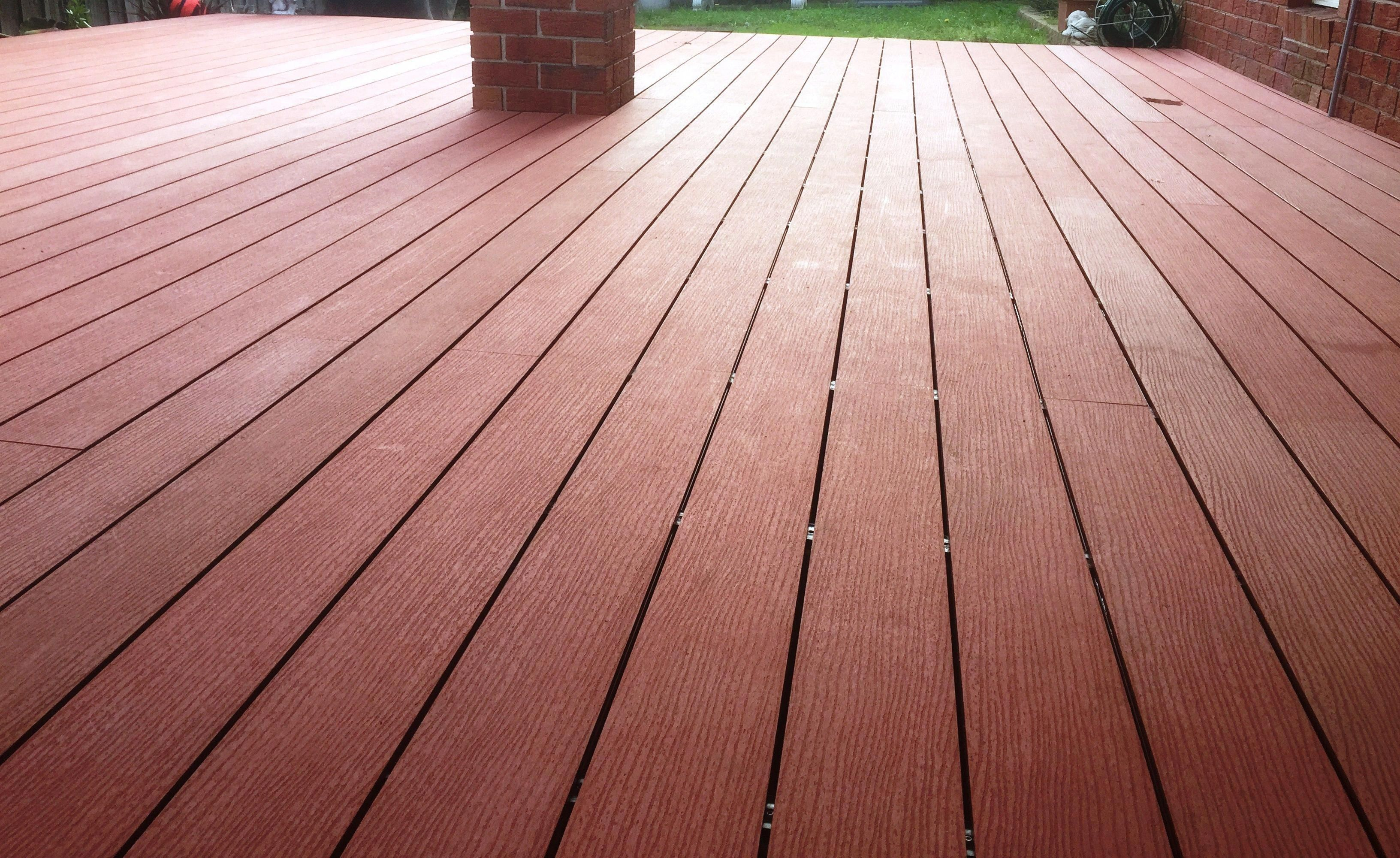 Composite Deck 12 Ft Composite Decking Prices With Images Composite Decking Diy Deck Outdoor Composite Decking