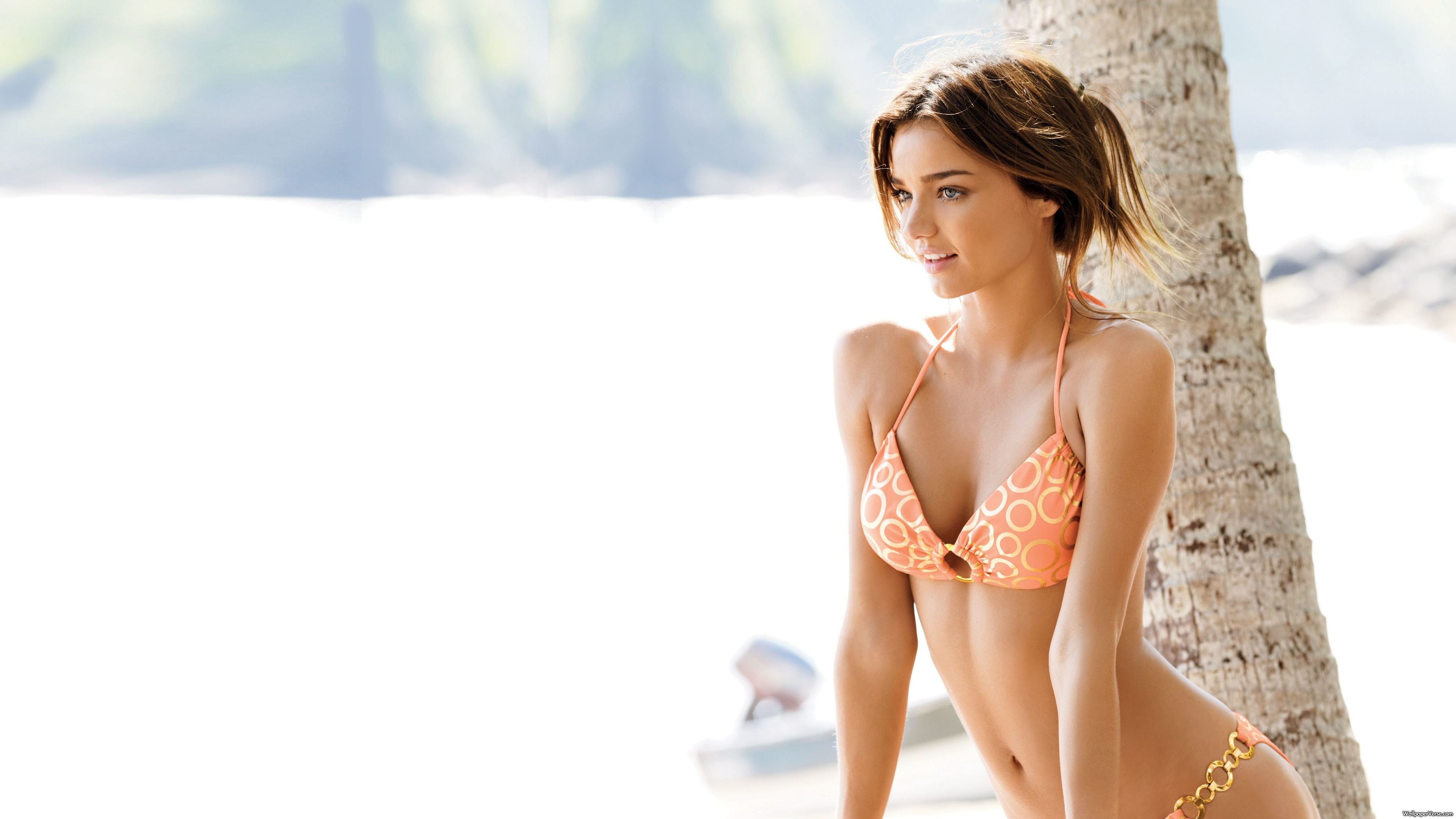Miranda Kerr Bikini Beach Photo Ultra Hd 4k Wallpapers Mit