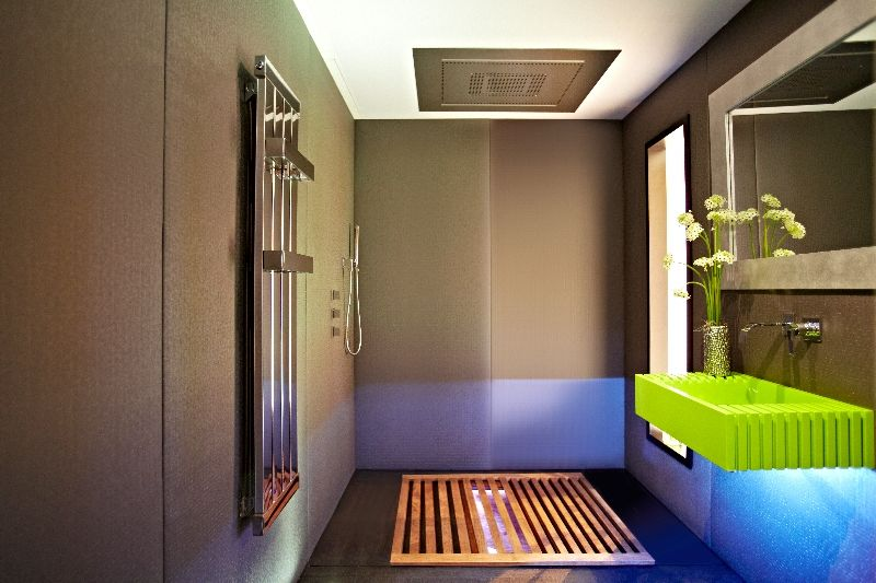 Design in a Small Space japanese bathroom  Interior