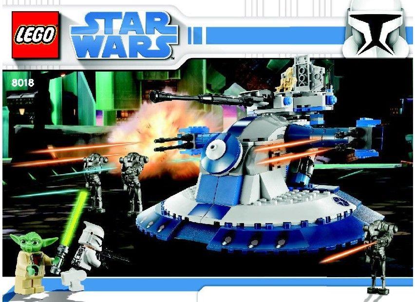 Star Wars Clone Wars - Armored assault tank (AAT) [Lego 8018]