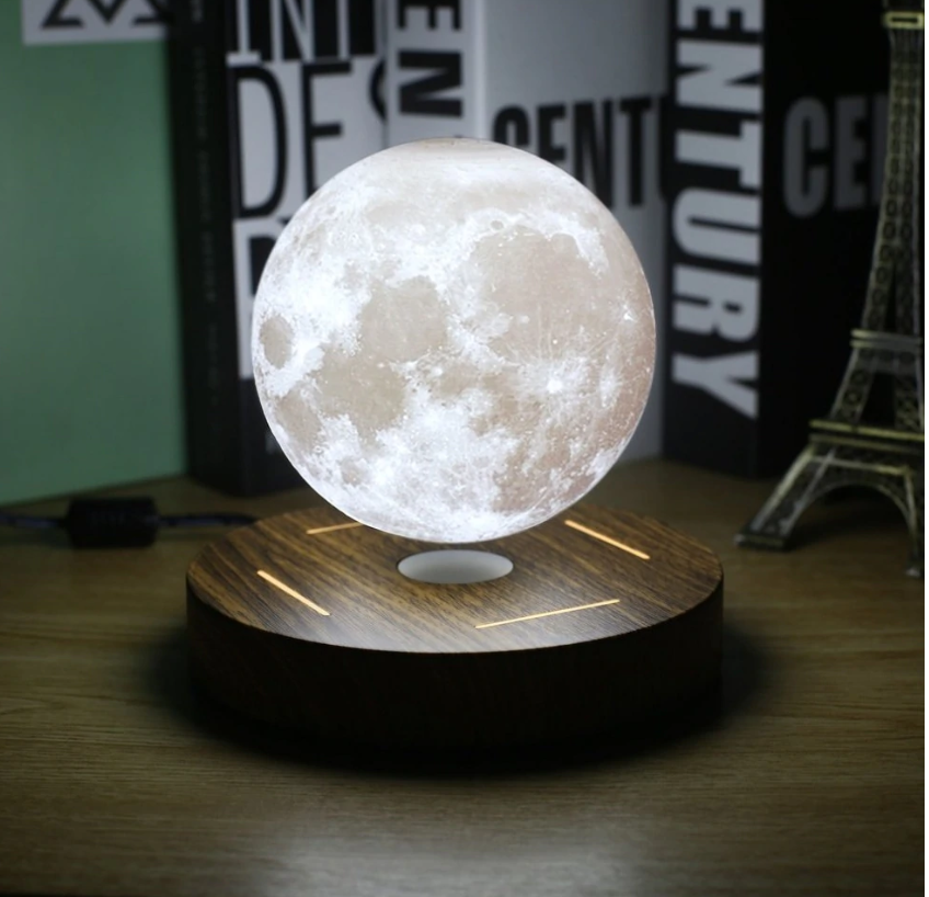 The Small Levitating Moon Lamp 4 Inches Levitation Moon Light Lamp Night Lamps