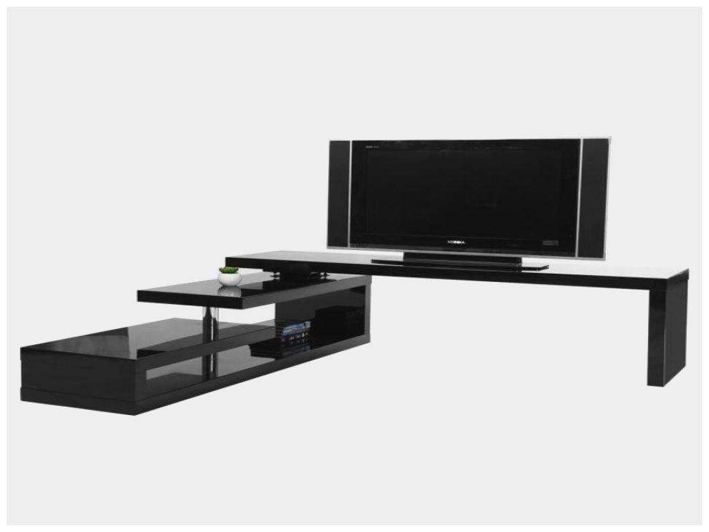 plateau pivotant luxe meuble tv