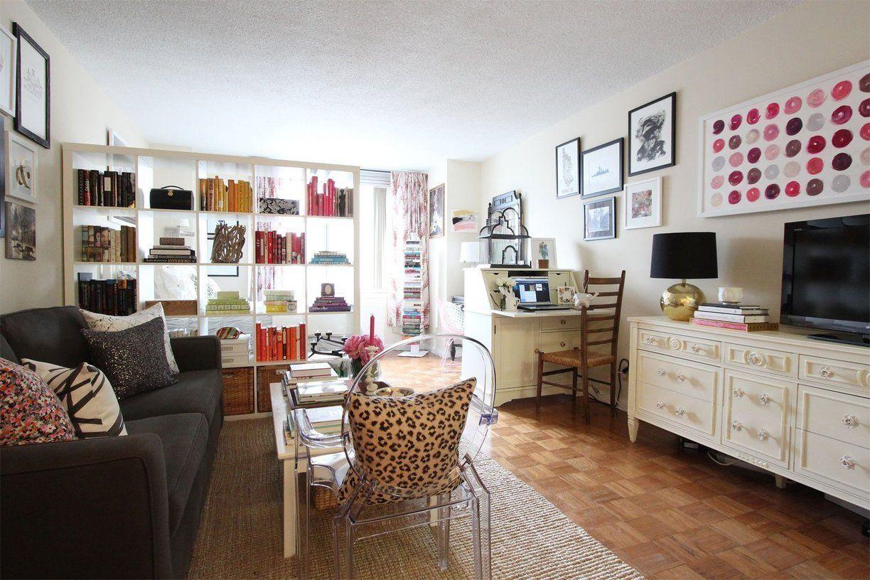 Jackie\'s Stylish Upper East Side Studio | Upper east side, Tiny ...