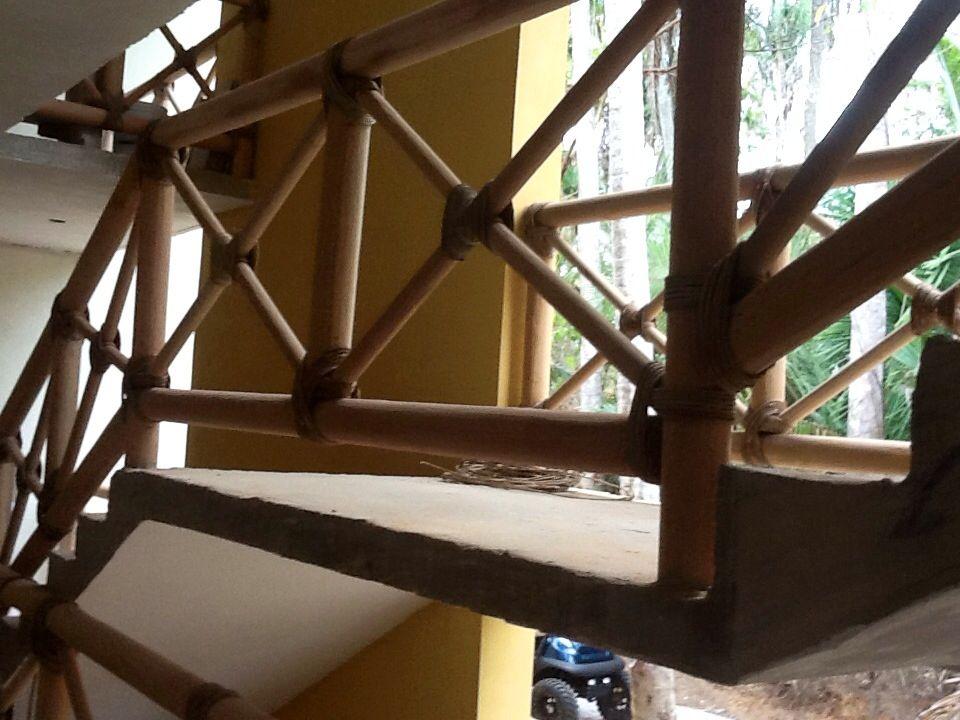 Barandal de madera barandales pinterest barandales for Barandales de madera para jardin