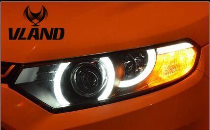Free Shipping Vland Factory Headlamp For Ecosport Ecospor Led