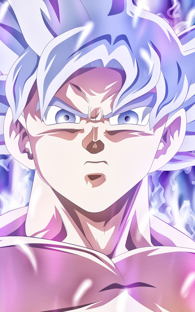Dragon Ball Super Goku Mastered Ultra Instinct Wallpaper 800x1280 Goku Mastered Ultra Instinc Anime Dragon Ball Super Dragon Ball Super Goku Anime Dragon Ball