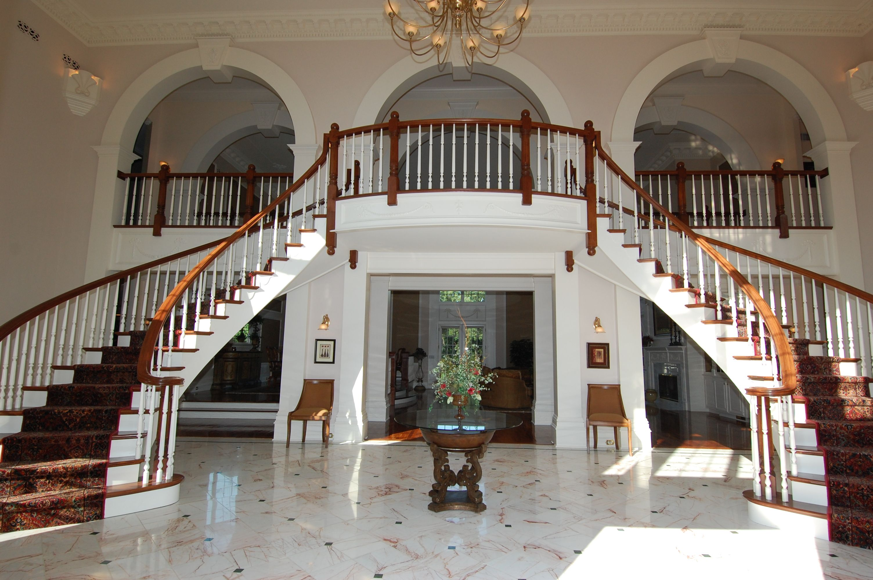 House Foyer Staircase : Grand foyer staircase google search stairs