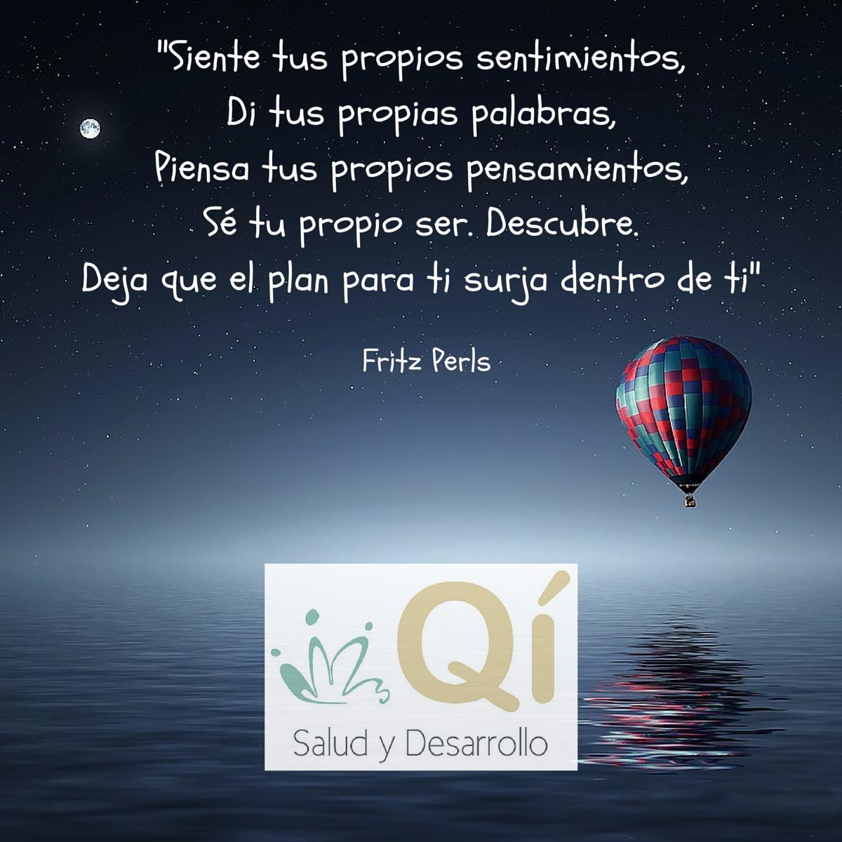 Frases o citas celebres para encontrar tu bienestar y tu salud personal. Qí es tu centro de psicoterapia, constelaciones familiares y movimiento auténtico en Madrid.