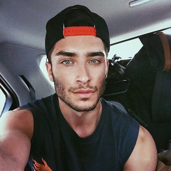 Toni Mahfud and his blue eyes