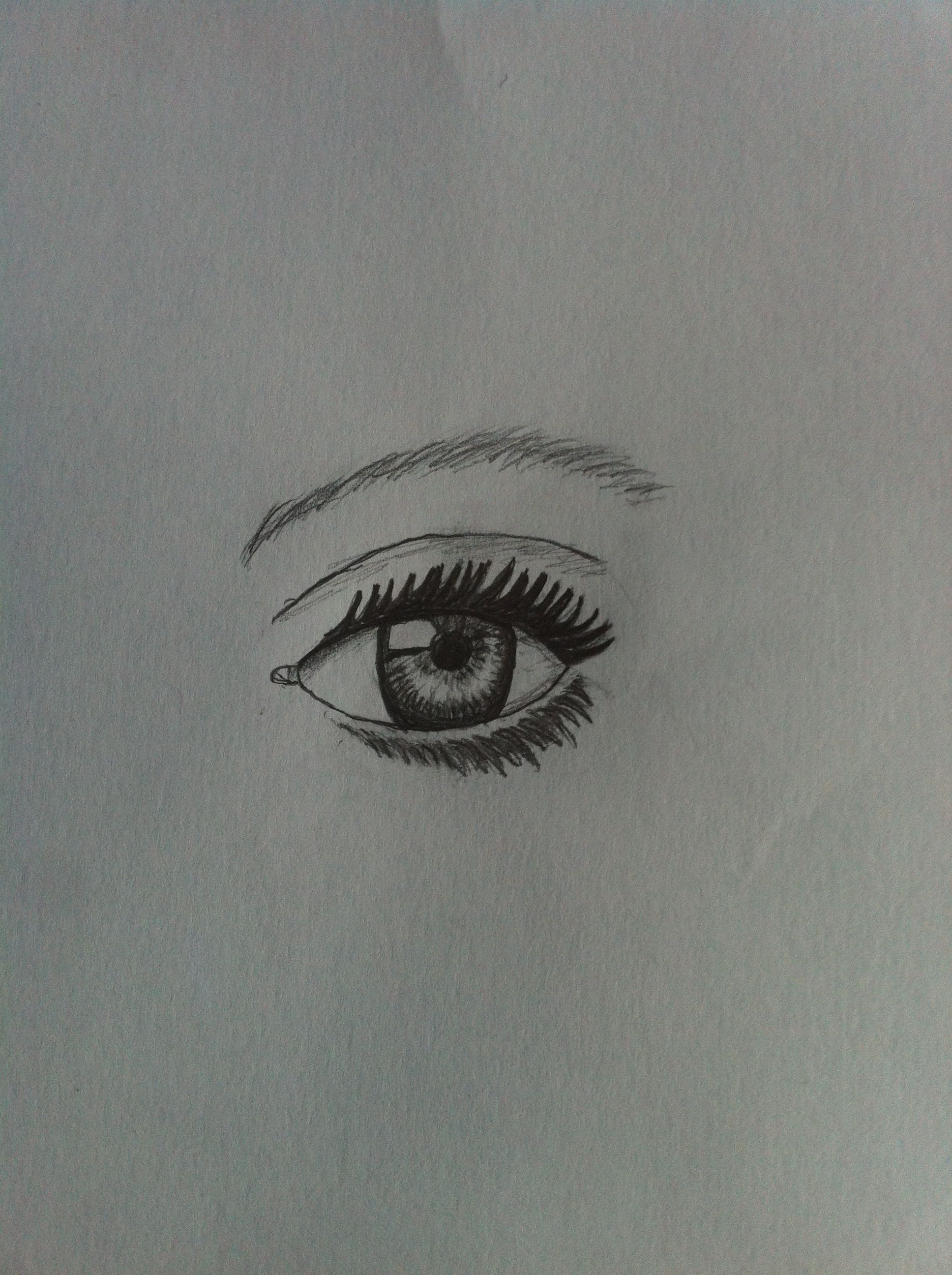 Just drew this eye!!!