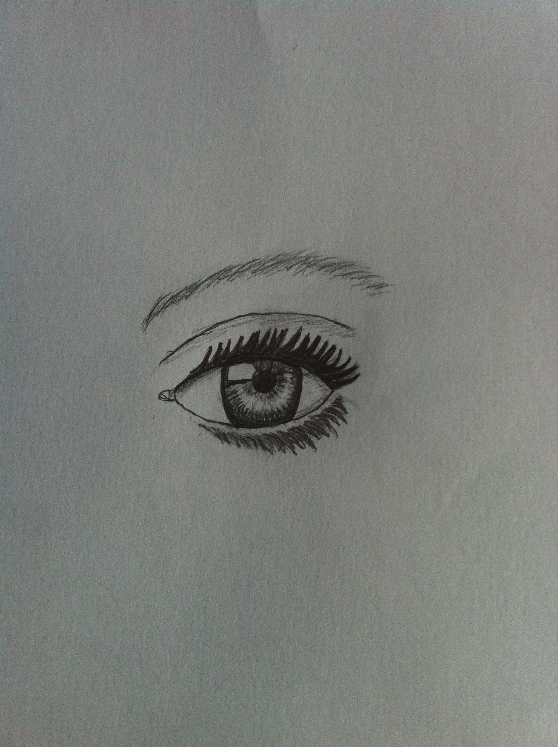 Just drew this eye!!!
