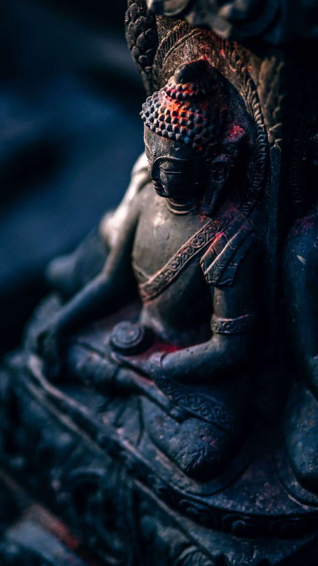Pin by ZenZone on iPhone Wallpapers Buddha sculpture