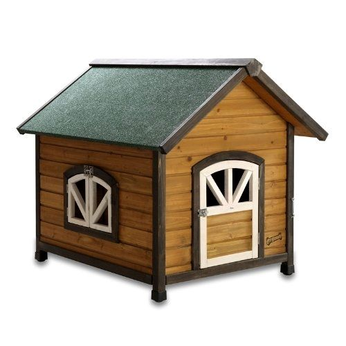 Doggy Den Dog House a great home for large dogs! Buy it