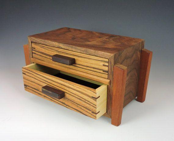 Two drawer jewelry box